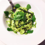 Exberliner Column: Tagliatelle with a Fresh Green Pesto
