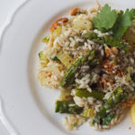 Asparagus and Walnut Risotto