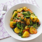 Smoked Salmon and Watercress Potato Salad