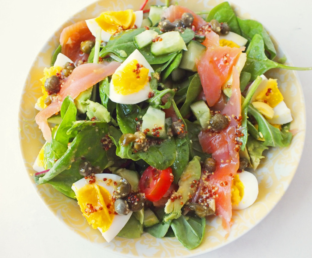 Smoked Salmon And Egg Salad Recipe — Dishmaps