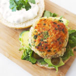 Prawn Burger with Tartare Sauce