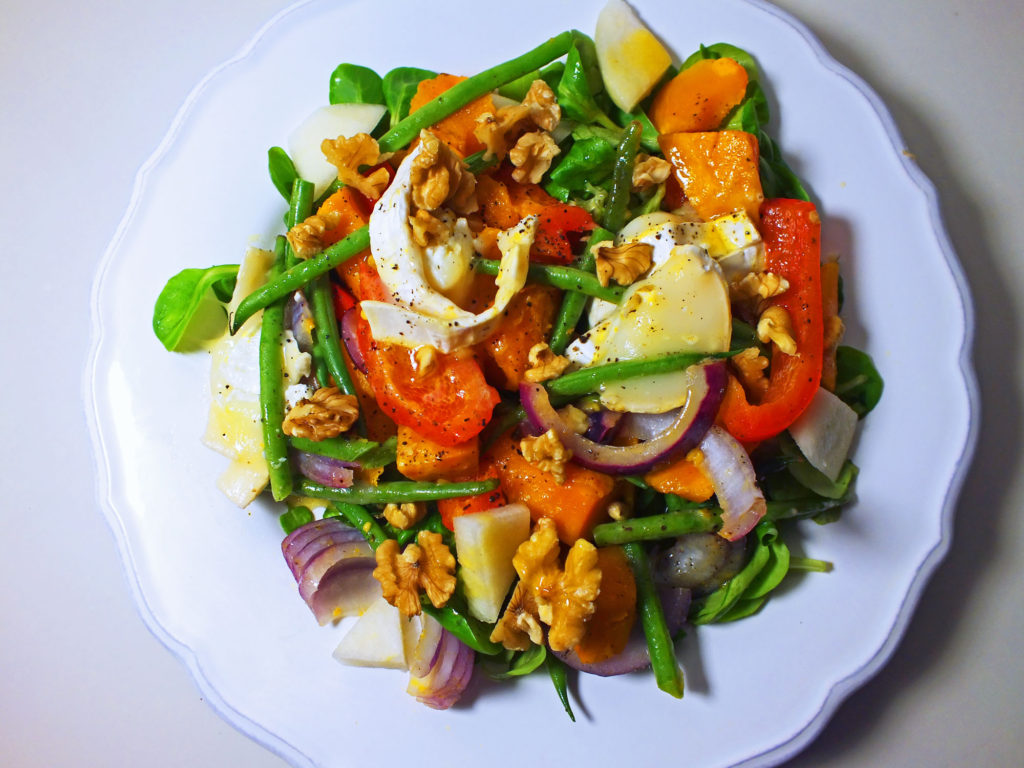 warm_goats_cheese_squash_salad