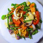 Warm Goats Cheese and Butternut Squash Salad