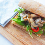 Gorgonzola and Mushroom Sandwich