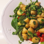 Exberliner Column: Coriander and Lime Potato Salad
