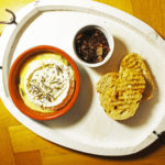 Baked Camembert with Caramelised Onions