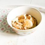 Porridge with Banana and Maple Syrup