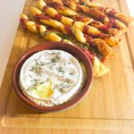 Baked Camembert with Parmesan and Parma Ham Straws