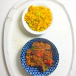 Turkey Tagine with Rice Pilaf