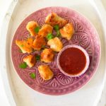 Crispy Pork Wontons with a Chilli Dipping Sauce