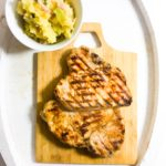 Guinness and Honey Glazed Pork Chops with Colcannon