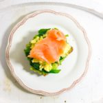Avocado, Spinach, Smoked Salmon and Scrambled Eggs on Toast