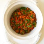 Parsley and Rosemary Meatball Tagine