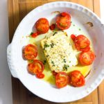 Honey and Thyme Baked Feta with Tomatoes
