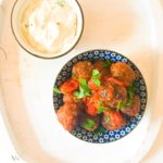 Oregano and Thyme Meatballs with a Tahini Yoghurt