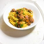 Italian Sausage and Sun-Dried Tomato Spaghetti