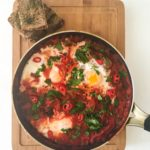 Shakshuka with Oregano Toast