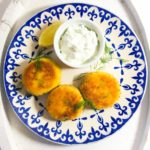 Salmon and Cod Fishcakes with a Tartare Sauce