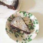 Italian Chocolate Christmas Cake