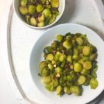 Honey and Hazelnut Roasted Brussels Sprouts