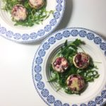 Cranberry and Stilton Stuffed Mushrooms